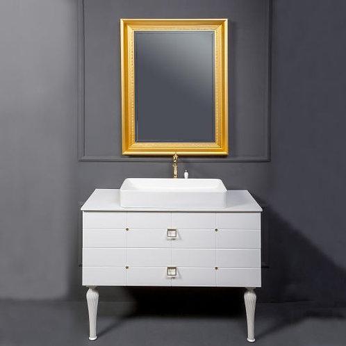 Мебель для ванной Armadi Art Valessi Avantgarde Piazza 100 белая