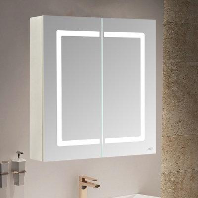 Зеркальный шкаф с LED-подсветкой MELANA-6670 (MLN-MC016)