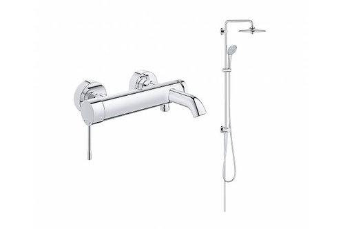 Душевая система для ванны GROHE Euphoria 260 со смесителем (NB0054)