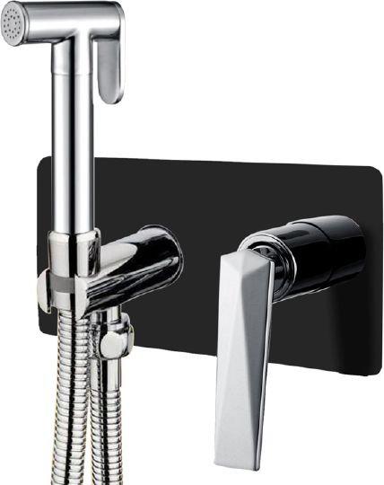 Гигиенический душ Boheme Venturo 377-B со смесителем, С ВНУТРЕННЕЙ ЧАСТЬЮ