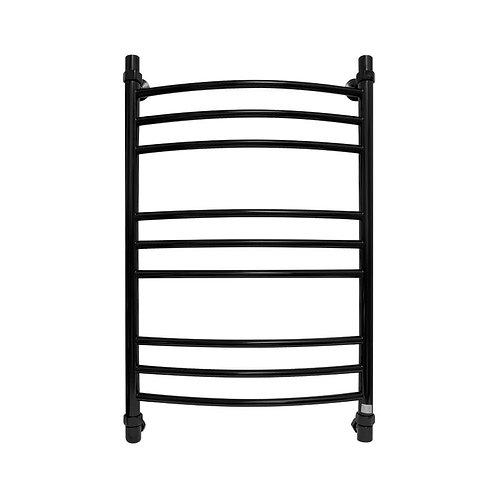 Водяной полотенцесушитель Energy Prestige 800x500 черный янтарь (RAL 9005)
