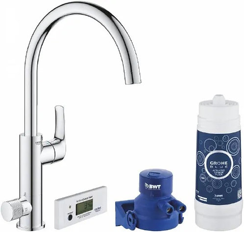 Смеситель Grohe Blue Pure Eurosmart 30383000 с функцией фильтрации