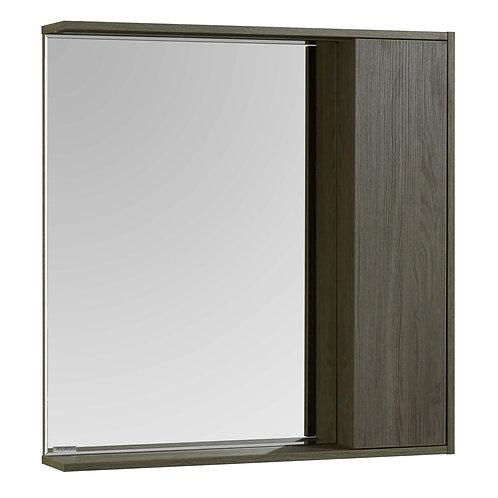 Акватон. Зеркальный шкаф СТОУН 80