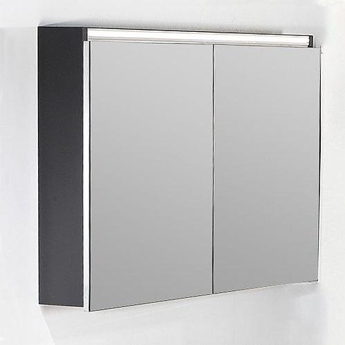 Зеркало-шкаф Armadi Art Vallessi 100 антрацит, матовый
