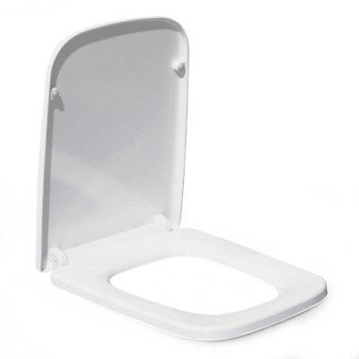 B2370Sa сиденье для унитаза дюропласт с микролифтом, белое MELANA