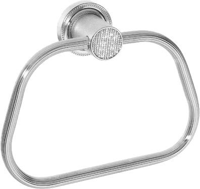 Полотенцедержатель Boheme Royal Cristal Chrome кольцо