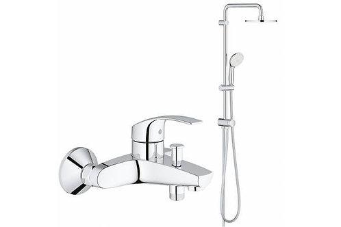 Душевая система для ванны GROHE New Tempesta 200 со смесителем (NB0045)