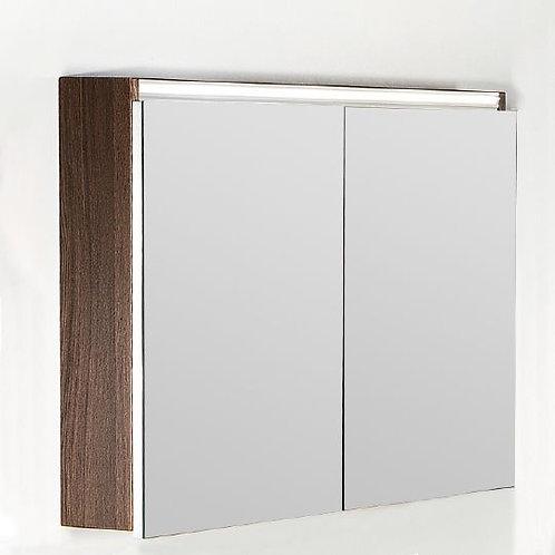 Зеркало-шкаф Armadi Art Vallessi 100 дуб темный