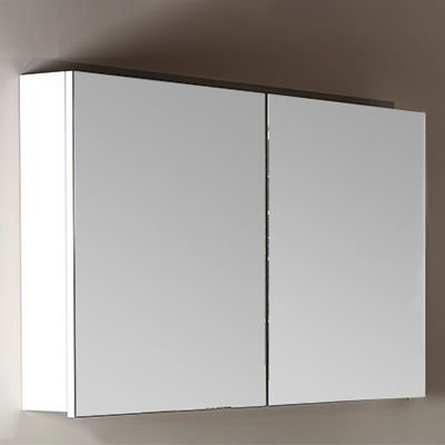 Зеркало-шкаф Armadi Art Vallessi 100 белый глянец