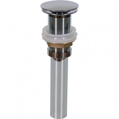 Донный клапан с переливом (хром) MLN-TB52