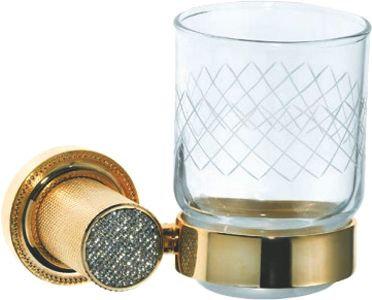 Стакан Boheme Royal Cristal Gold подвесной