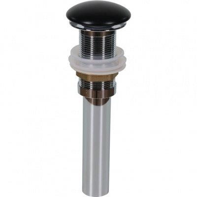 Донный клапан без перелива (черный матовый) MLN-TB18M-1
