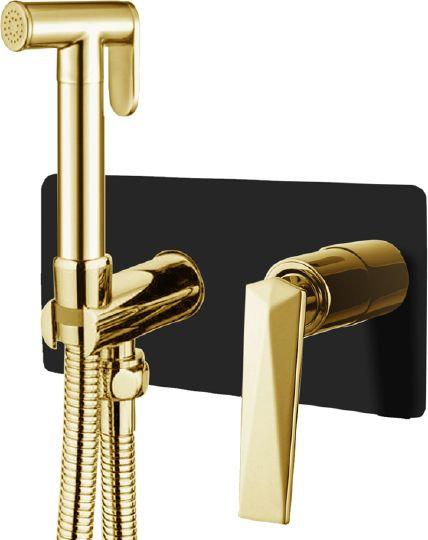 Гигиенический душ Boheme Venturo 387-B со смесителем, С ВНУТРЕННЕЙ ЧАСТЬЮ