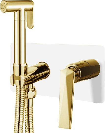 Гигиенический душ Boheme Venturo 387-W со смесителем, С ВНУТРЕННЕЙ ЧАСТЬЮ