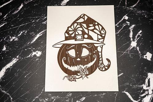 Wall Display - Halloween Pumpkin