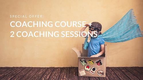 International Coaching Certification + 2 coaching sessions
