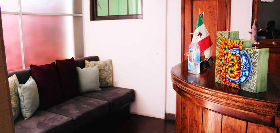 Sala de espera y recepción / Wating Room & Reception