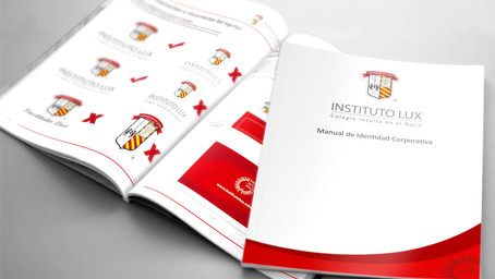 Identidad corporativa | Instituto Lux