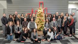 Staff and Board Christmas Photo
