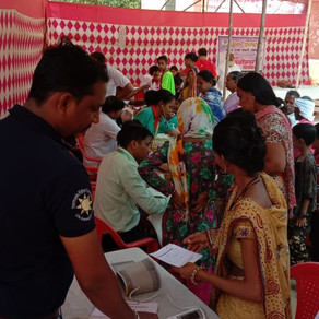 700 patients done in Free medical camp at Aaray colony Goregaun east mumbai.thanks to team#Volunteer