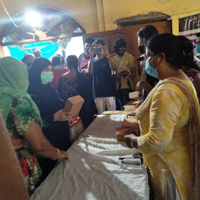 It been very successful event of free distribution sanitary napkins