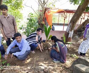 150Tree 🌲 plantation program has been very successful at goregaon East Mumbai thanks to Bio Touse.