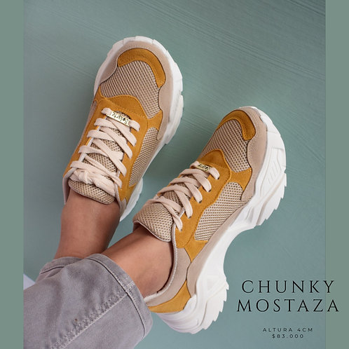 Chunky Mostaza - Taupe