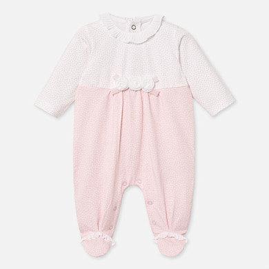 Pijama punticos rosada frontal