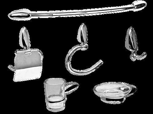 Conjunto Accesorios de Baño Línea Taglio