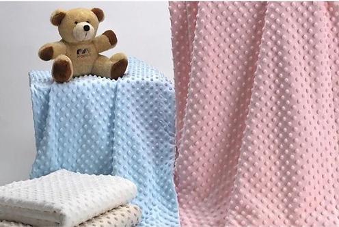 Cobija térmica para bebé topitos sherpa