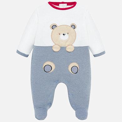 Pijama osito asomado frontal