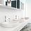 Grifería lavamanos monocontrol Línea Supra ambiente claro