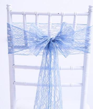 VINTAGE BLUE LACE SASH