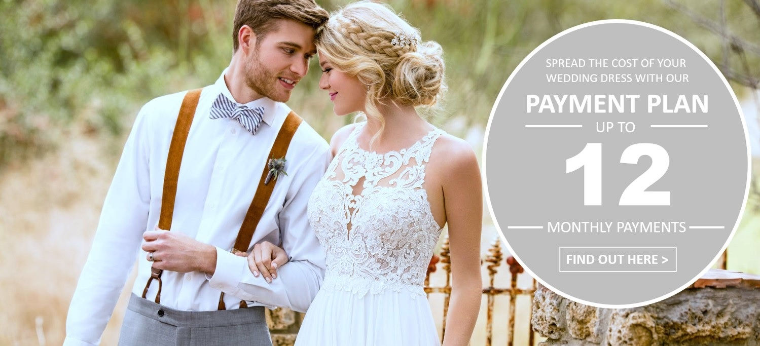 Spread The Cost Of Your Dream Wedding Dress With A Valentia Interest Free Payment Plan