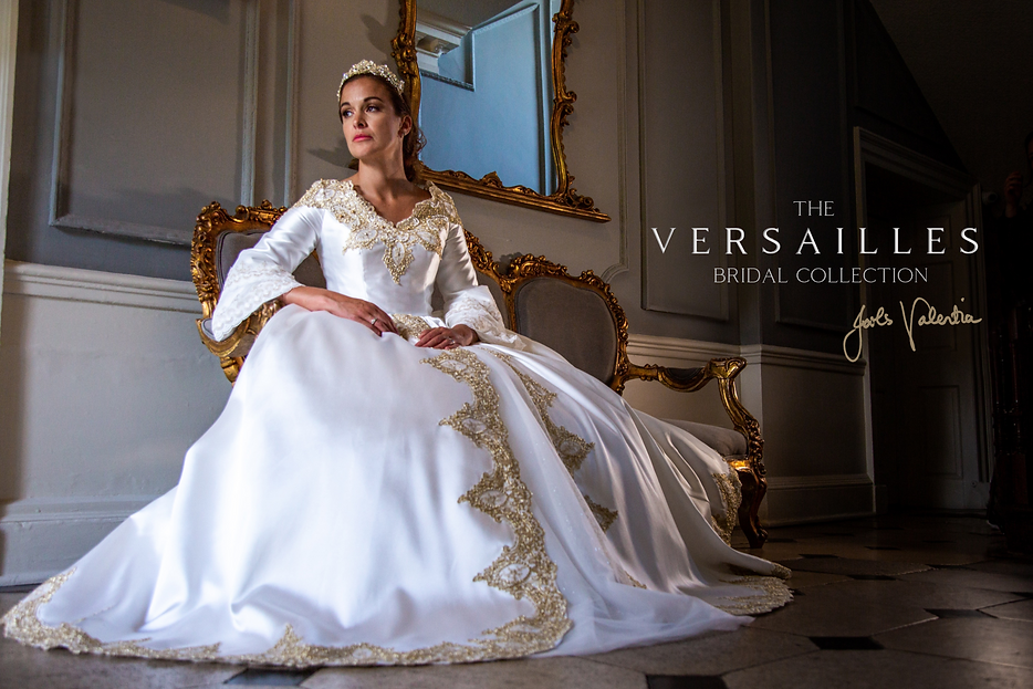 Wedding dress style Antoinette from the Versailles Bridal Collection