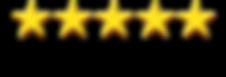5 Star Google Ratings