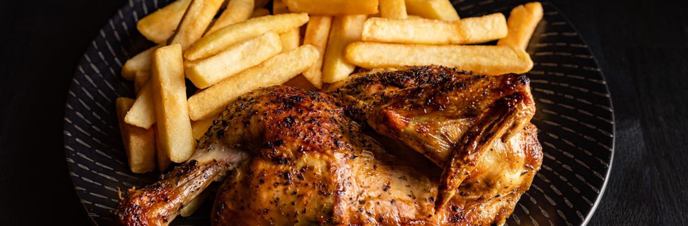Char Flame Chicken n Chips