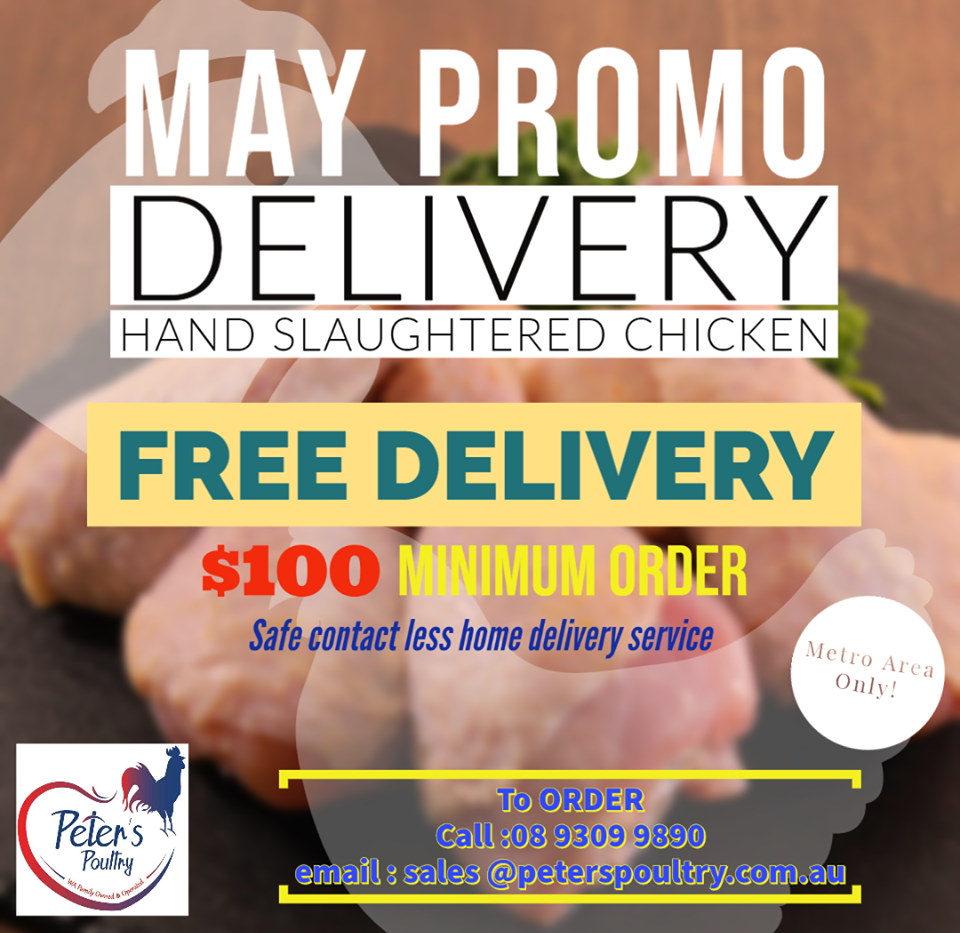 Peter's Poultry Delivery Promotion