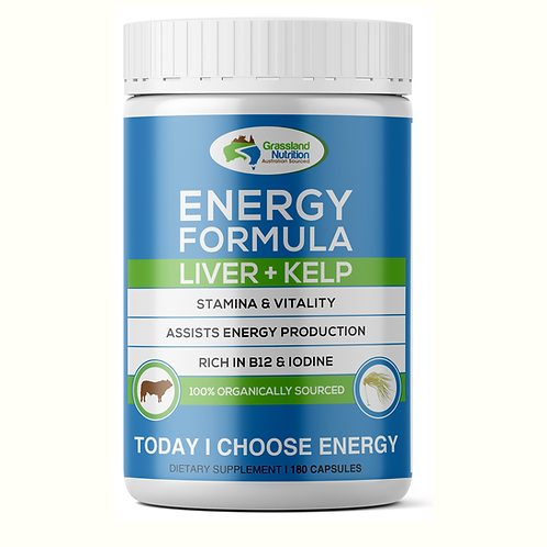 Beef Liver and Kelp Capsules