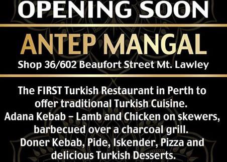Antep Mangal Launch Brochure