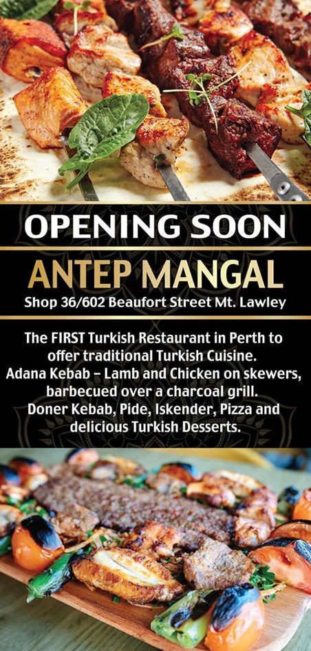 Antep Mangal Launch Brochure