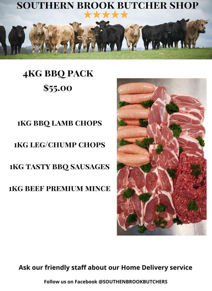 4kg BBQ Pack