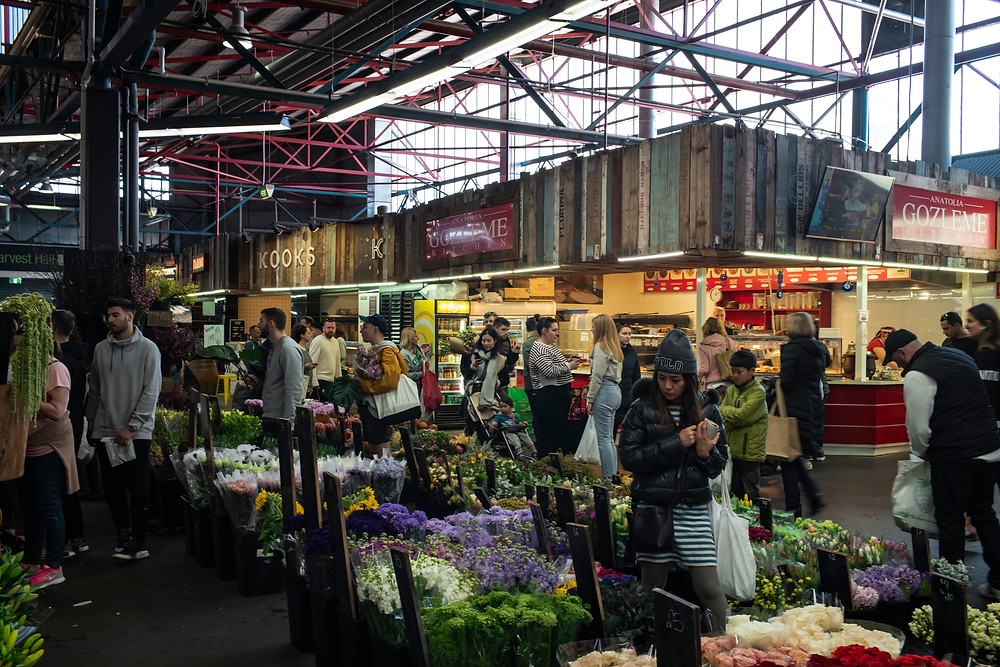Plenty of things to do while browsing the fresh ingredients supplied from the local Markets.