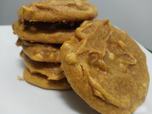 La sportive - Biscuits protéinés au beurre d'arachides (8)