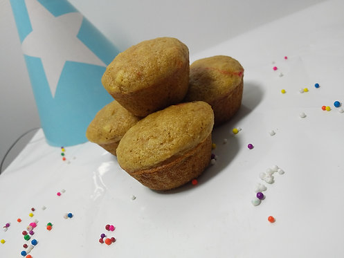 C'est ma fête ! - Mini-cupcakes vanille et confettis (12)