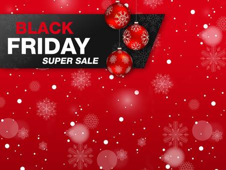 Le Vendredi noir : De vendredi à dimanche dans notre boutique !