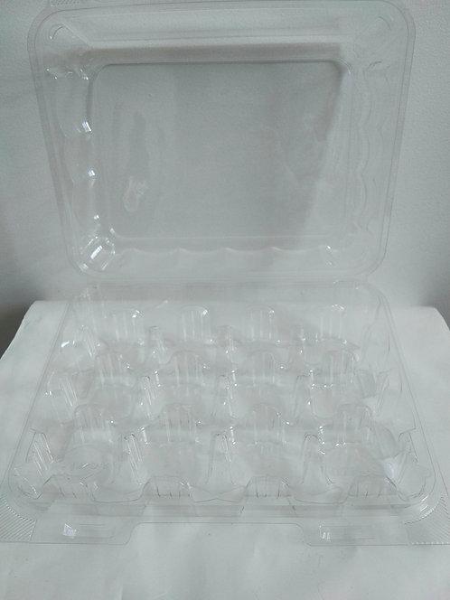 Contenant compostable pour 12 mini-bouchées