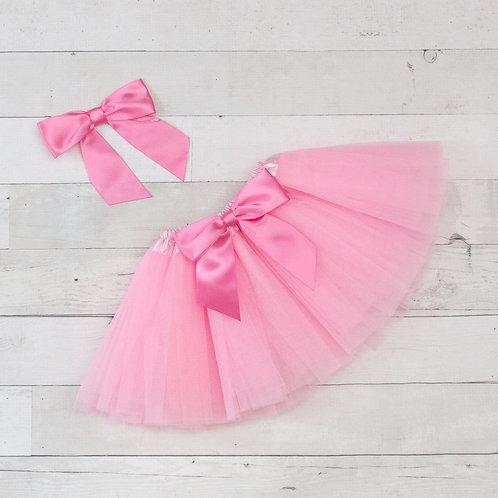 Pink Petite Princess Tutu and Headband