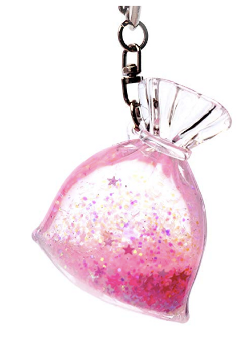 Pink Fairy Bag Keychain