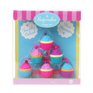 Freshly Baked Cupcake Eraser Set